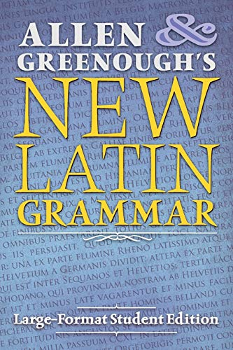 9781621381792: Allen and Greenough's New Latin Grammar: Large-Format Student Edition