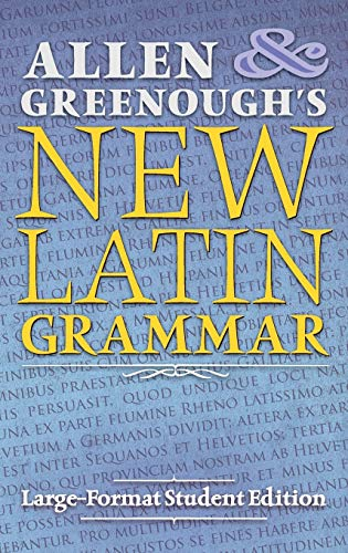 9781621381808: Allen and Greenough's New Latin Grammar: Large-Format Student Edition