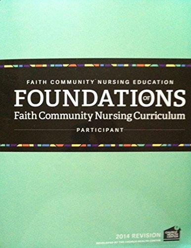9781621440475: Foundations of Faith Community Nursing Curriculum - Participant