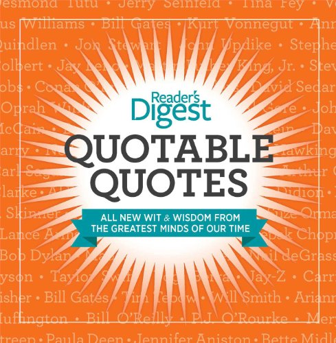 9781621450047: Quotable Quotes: Wit and Wisdom from the Greatest Minds of Our Time