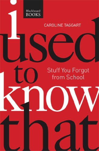 9781621451822: I Used to Know That PB: Stuff You Forgot From School