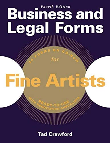 9781621534037: Business and Legal Forms for Fine Artists (Business and Legal Forms Series)