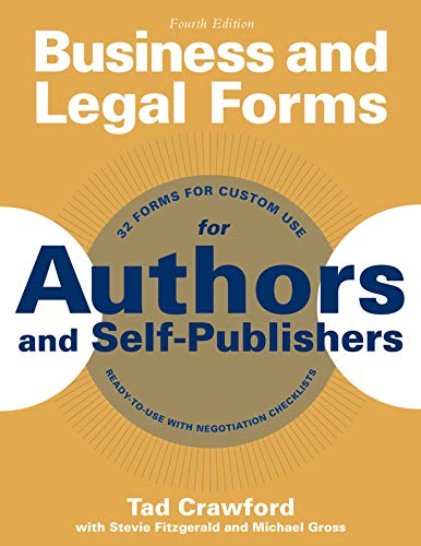 9781621534648: Business and Legal Forms for Authors and Self-Publishers (Business and Legal Forms Series)