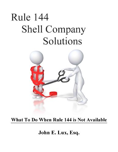 9781621544944: Rule 144 Shell Company Solutions