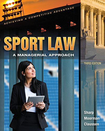 9781621590033: Sport Law: A Managerial Approach