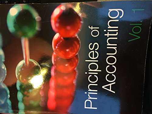 9781621780151: Principles of Accounting vol.1 2012 Bridgepoint Education