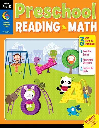 9781621863137: Preschool Reading & Math Jumbo Workbook