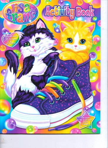 9781621910084: Lisa Frank Activity Book (Includes Over 30 Stickers & 2 Posters)