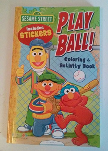 9781621911388: Sesame Street Play Ball Coloring and Activity Book ...