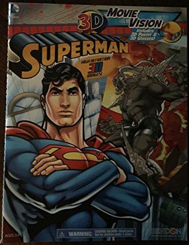 SUPERMAN 3D MOVIE VISION COMIC: DC Comics