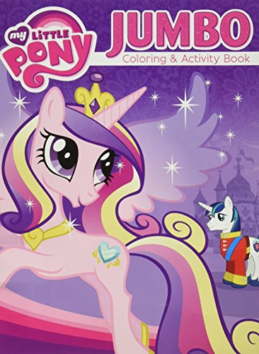 My Little Pony Jumbo Coloring and Activity ...