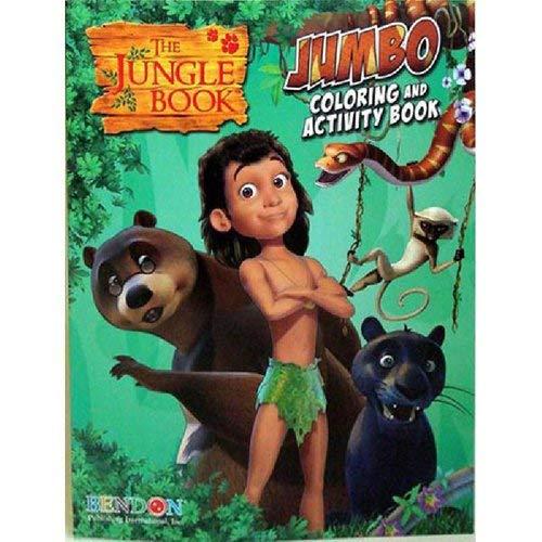 9781621919971: Jungle Book Jumbo Color Activity