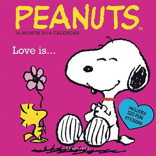 9781621976097: 2014 Peanuts Love is Wall