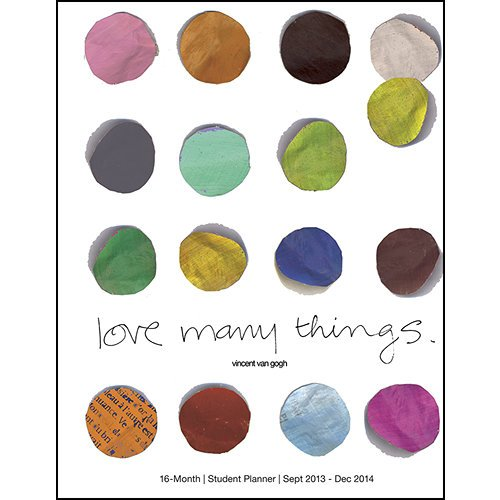 2014 Love Many Things Planner: France, Graphique de