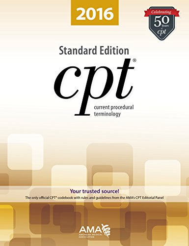 9781622022083: CPT 2016 Standard Edition (Cpt / Current Procedural Terminology (Standard Edition))