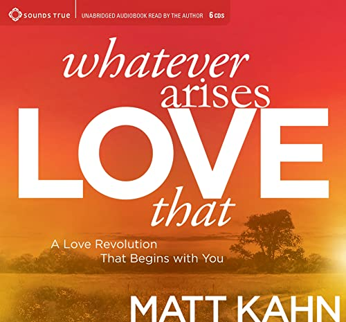 9781622039159: Whatever Arises, Love That: A Love Revolution That Begins with You