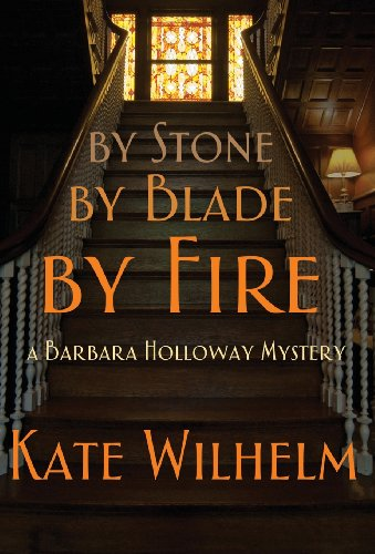 9781622050123: By Stone, by Blade, by Fire (Barbara Holloway Novels)