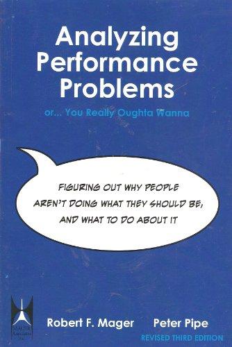 9781622091393: Analyzing Performance Problems