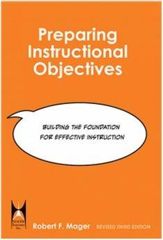 9781622091409: Preparing Instructional Objectives