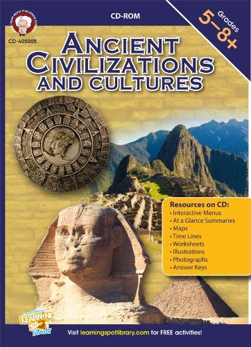 9781622230143: Ancient Civilizations and Cultures CD-ROM, Grades 5 - 8