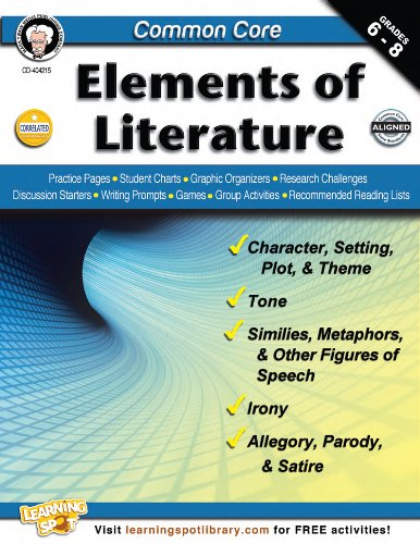 Common Core: Elements of Literature, Grades 6 - 8: Armstrong, Linda