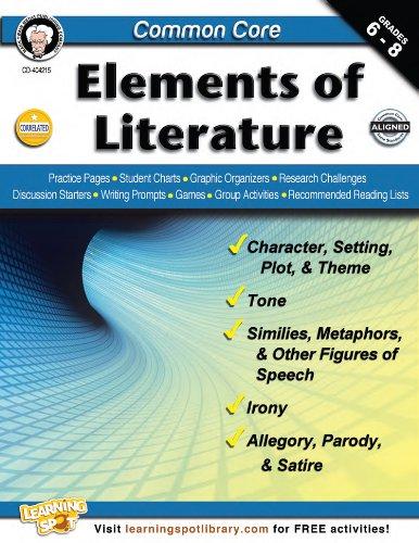9781622234646: Common Core: Elements of Literature, Grades 6 - 8