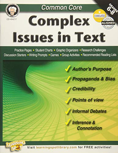 Common Core: Complex Issues in Text: Armstrong, Linda