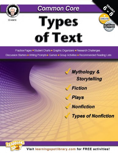 Common Core: Types of Text: Armstrong, Linda