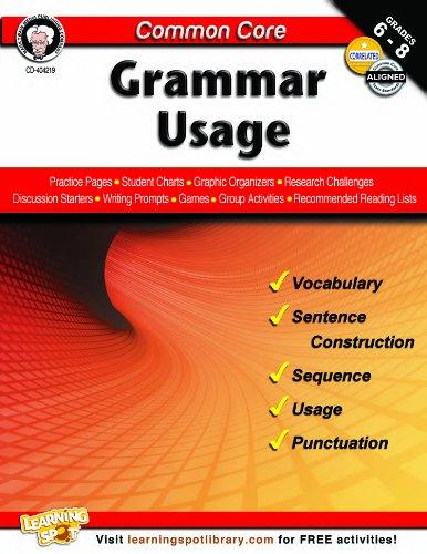 Common Core: Grammar Usage: Armstrong, Linda