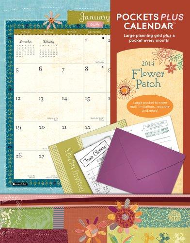 9781622260799: Flower Patch Pockets Plus 2014 Calendar