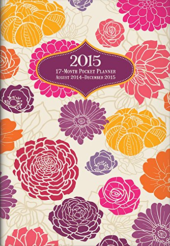 9781622263820: Brilliant Blooms Monthly Pocket Planner