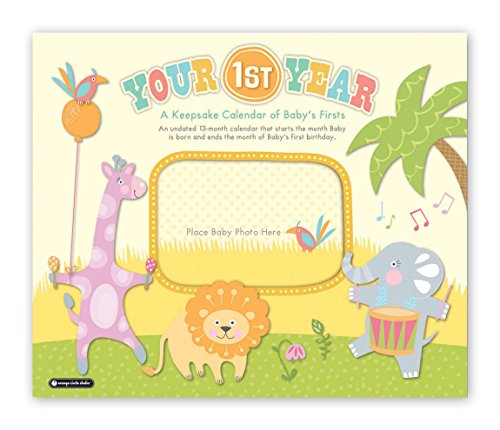 9781622264216: Your 1st Year: A Keepsake Calendar of Baby's Firsts (Deluxe)