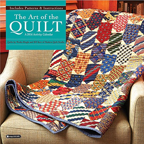 9781622267422: Orange Circle Studio 2016 Activity Wall Calendar, The Art of the Quilt