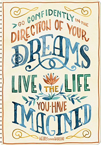 9781622267880: Live The Life You Have Imagined Weekly Planner Calendar 2016