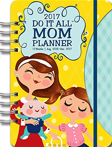 9781622269068: Orange Circle Studio 17-Month 2017 Do It All Planner, Mom's Do It All