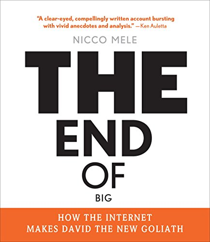 The End of Big: How the Internet Makes David the New Goliath (Compact Disc): Nicco Mele