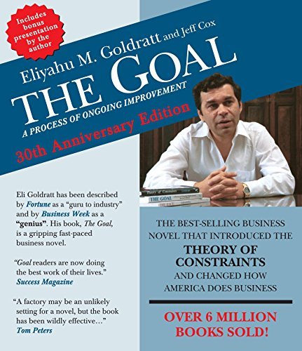 9781622313945: The Goal: A Process of Ongoing Improvement - 30th Aniversary Edition