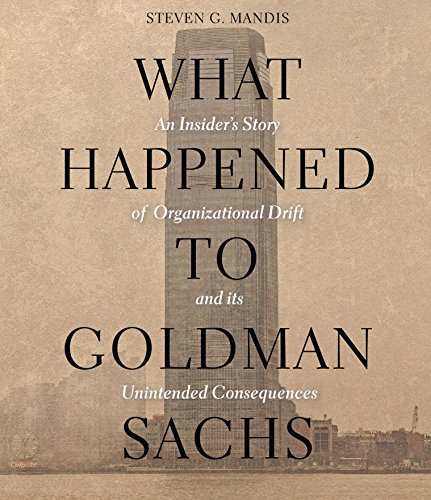 9781622314461: What Happened to Goldman Sachs: An Insider's Story of Organizational Drift and Its Unintended Consequences