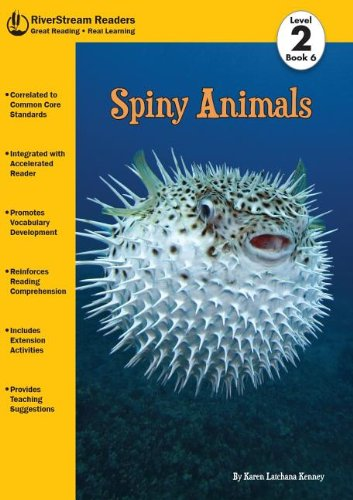9781622430253: Spiny Animals, Book 6 (RiverStream Readers: Level 2)