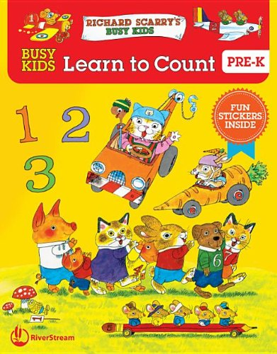 9781622430888: Busy Kids Learn to Count (Richard Scarry's Busy Kids)
