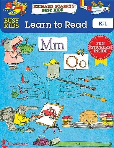 9781622430918: Busy Kids Learn to Read!: K-1 (Richard Scarry's Busy Kids)