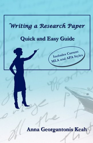9781622490196: Writing a Research Paper: Quick and Easy Guide