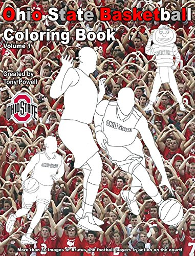 9781622492398: The Ohio State University Basketball Coloring Book