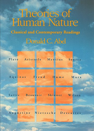 9781622492671: Theories of Human Nature: Classical and Contemporary Readings