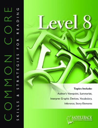 Common Core Skills Strategies for Reading Level 8 (Paperback)