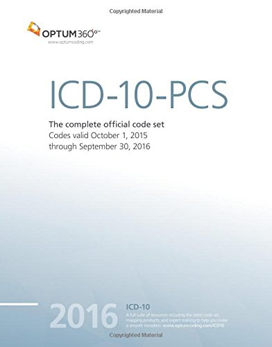 9781622540204: ICD-10-PCS Expert 2016