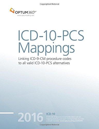 9781622540297: ICD-10-PCS Mappings 2016