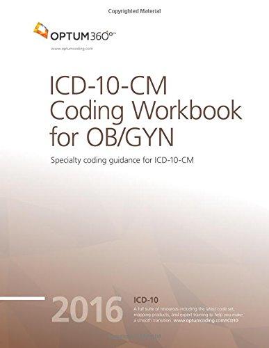 9781622540952: ICD-10-CM Coding Workbook for OB/GYN 2016