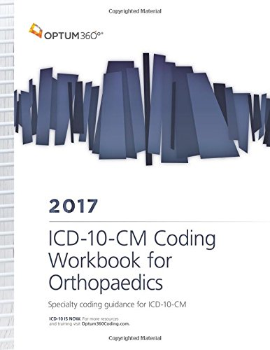 9781622542826: ICD-10-CM Coding Workbook for Orthopaedics 2017 (Spiral)