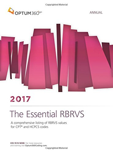 9781622542871: The Essential RBRVS Annual 2017